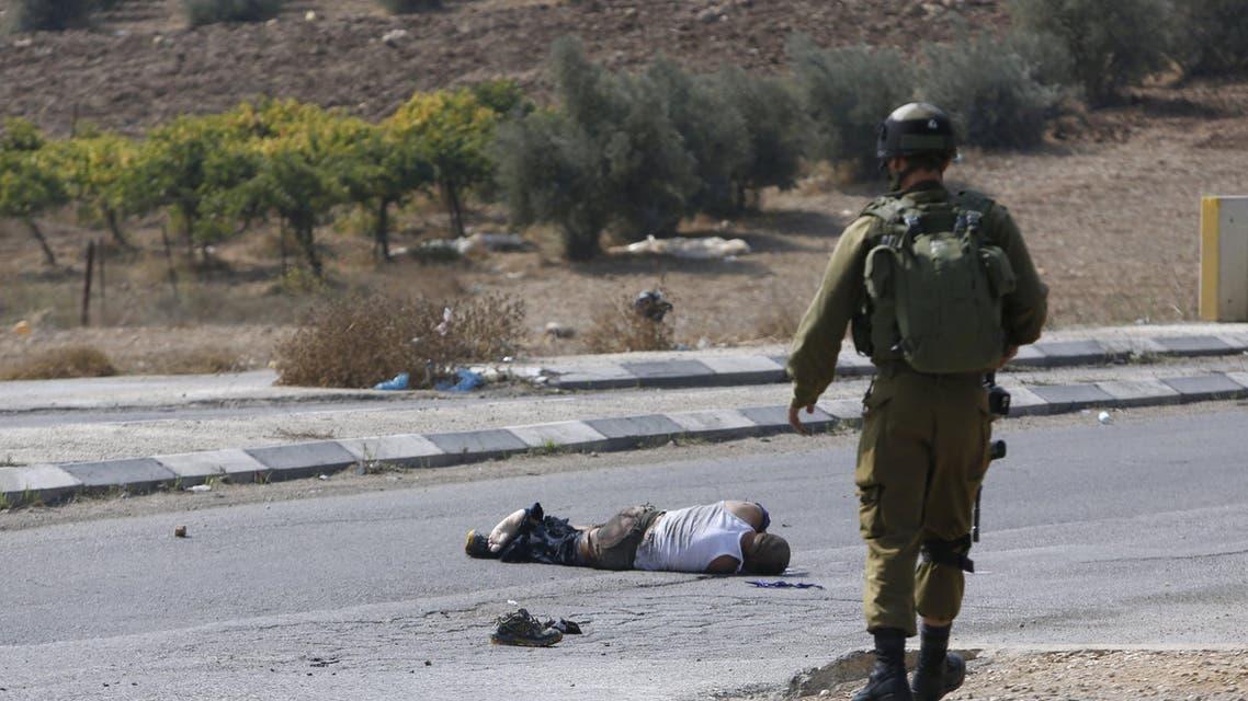 الشاب الفلسطيني الذي حاول دهس الخليل