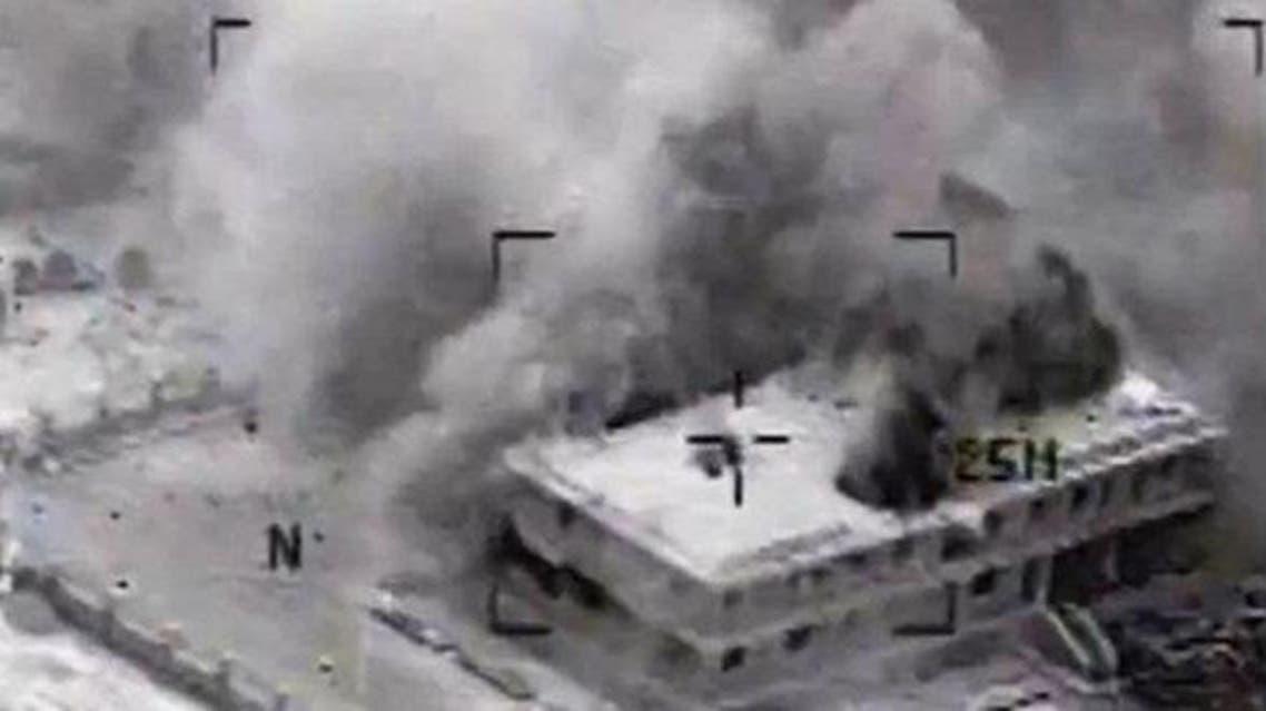 غارات التحالف ضد داعش