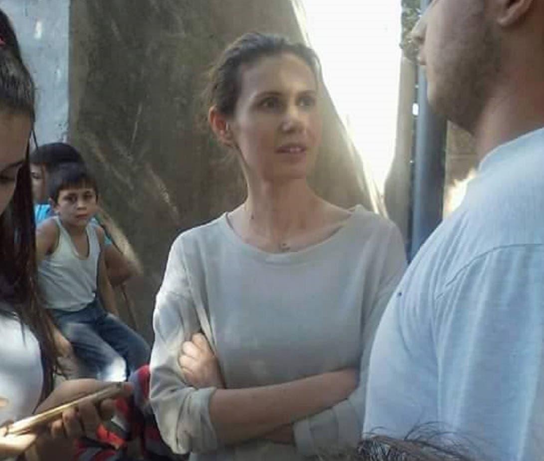 وتتحدث إلى أحد مصابي جيش النظام في منطقة صنوبر جبلة