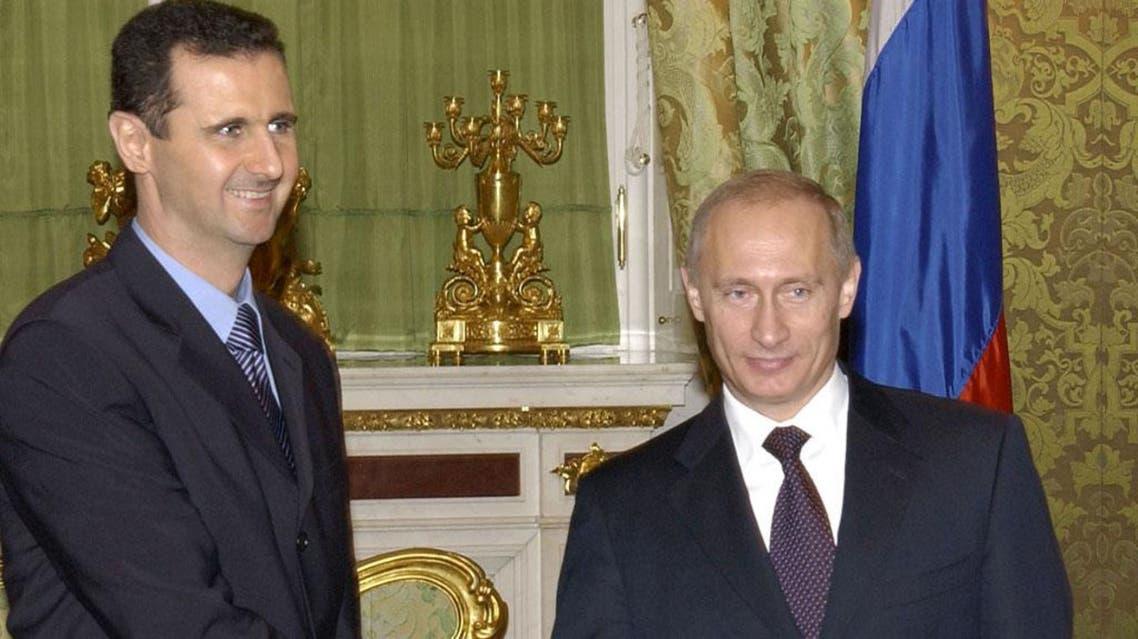 الأسد + بوتين 3