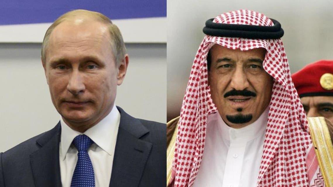 الملك سلمان و بوتين