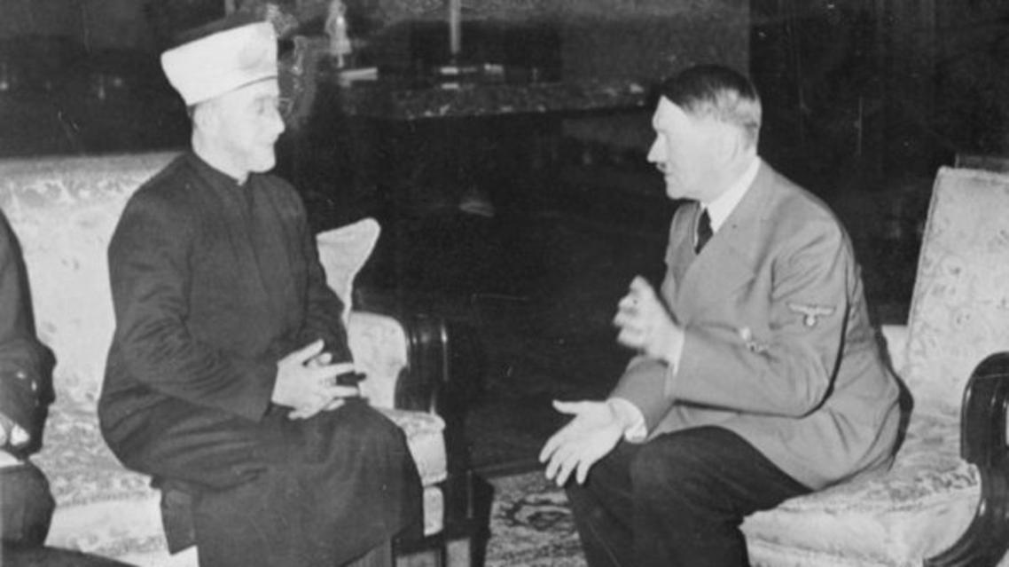 هتلر ومفتي القدس في برلين عام 1941