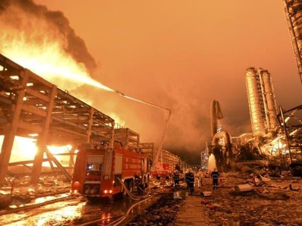 12 قتيلاً بانفجار مصنع للغاز وسط الصين