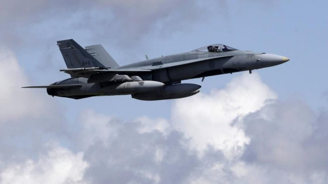 Canada last year deployed CF-18 fighter jets to the region until March 2016. (File photo: Reuters)