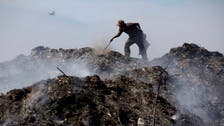 Morocco trash pickers help fight climate change