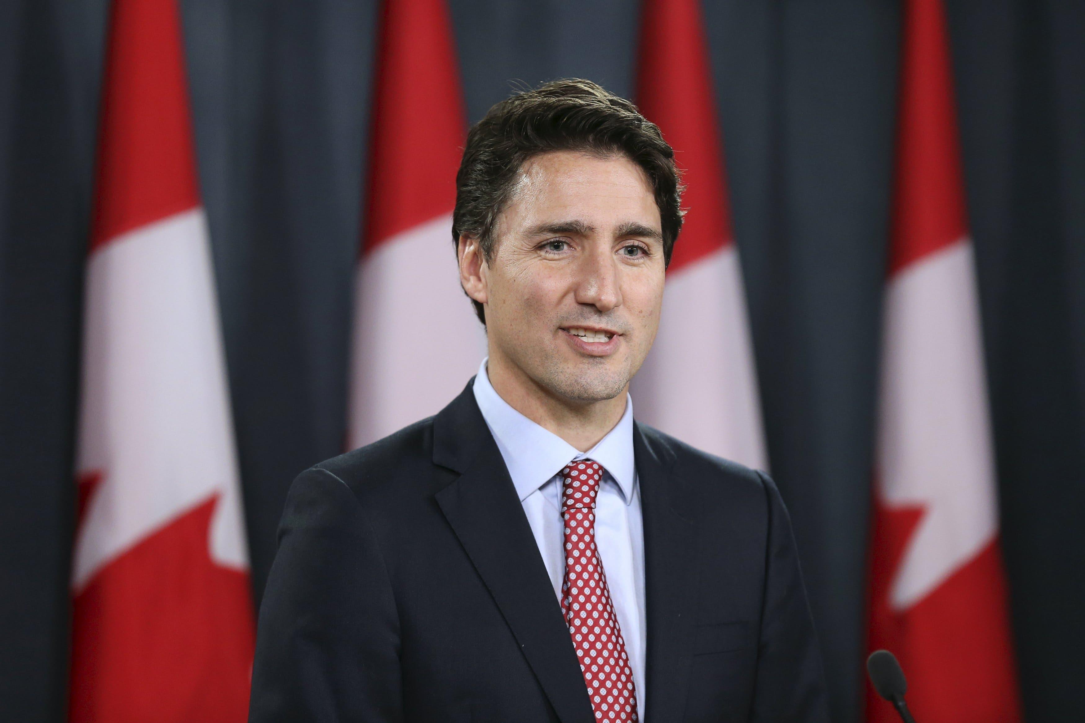 کینیڈا کے نومنتخب وزیراعظم جسٹن ٹروڈیو