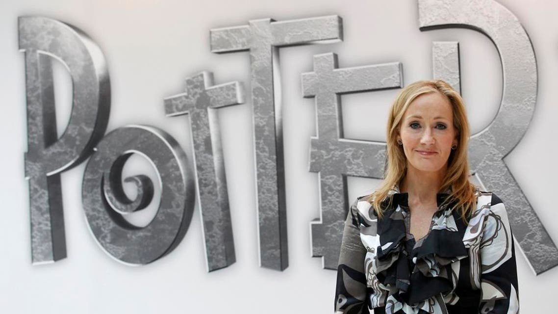 British author J.K. Rowling, creator of the Harry Potter series of books, poses during the launch of new online website Pottermore in London. (File: Reuters)