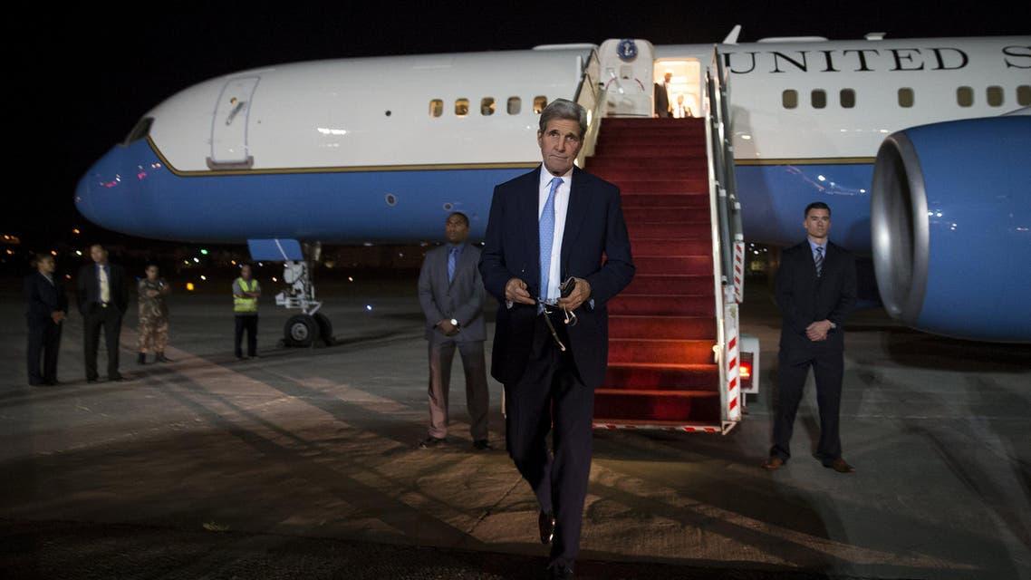 وصول جون كيري إلى الأردن
