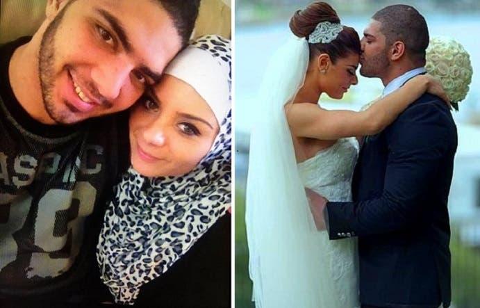 وبعد زواج أيوب، المعروف في الحي الذي يقيم فيه بلقب الشاب الذهبي، اعتنقت جيسيكا الإسلام وتحجبت