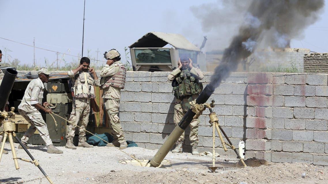 جانب من عمليات القوات العراقية ضد داعش في الأنبار (أرشيفية)