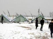 اقتراب موسم الشتاء يضع حياة اللاجئين السوريين في الخطر