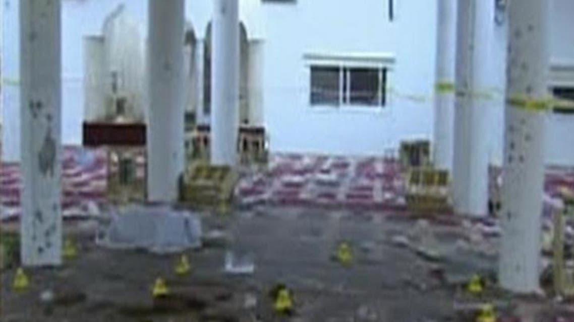 THUMBNAIL_ الصور الاولى من داخل مسجد نجران بعد التفجير