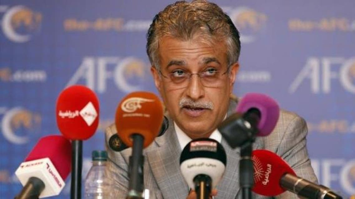 New Asian Football Confederation (AFC) President Sheikh Salman Bin Ebrahim Al Khalifa speaks during a news conference during an AFC Extraordinary Congress in Kuala Lumpur May 2, 2013. Reuters