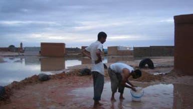 خسائر مادية بسبب الأمطار في موريتانيا