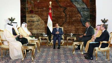 الملك سلمان يشيد بالعلاقات الوثيقة مع مصر