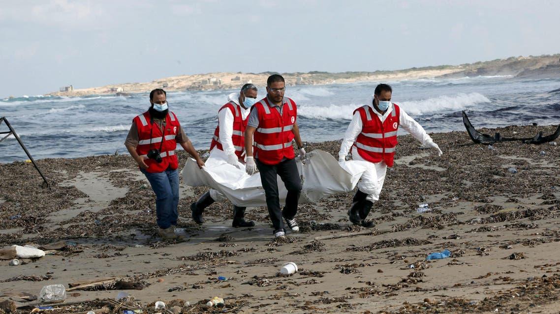 ليبيا - مهاجرون - غرق