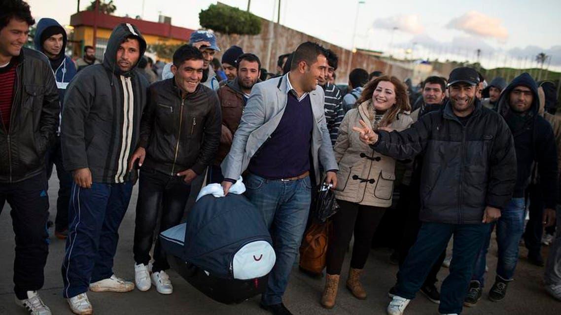 مهاجرون سوريون - مليلية