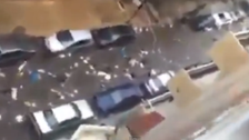 Lebanese PM claims 'rivers of rubbish' video is fake