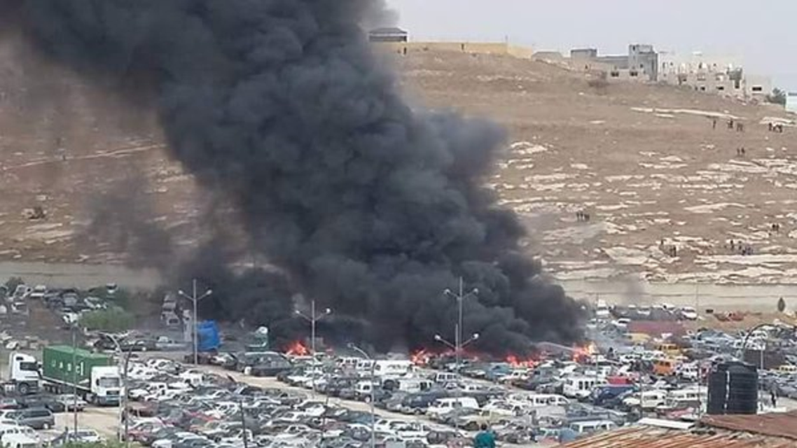 الانفجار وقع في جمرك عمان
