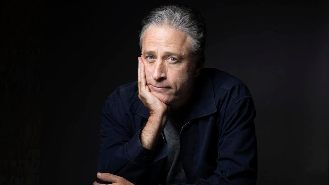 """Jon Stewart poses for a portrait in promotion of his film,""""Rosewater,"""" in New York. (File photo: AP)"""