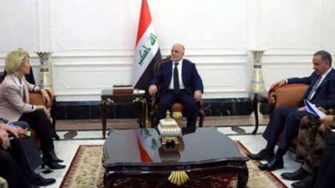 زيارة وزيرة الدفاع الألمانية إلى بغداد