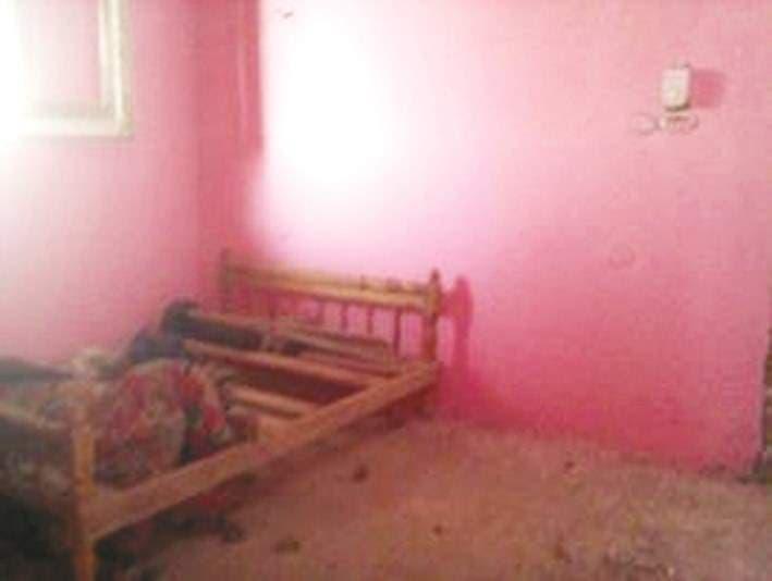 الغرفة التي قتلت فيها الفتاة