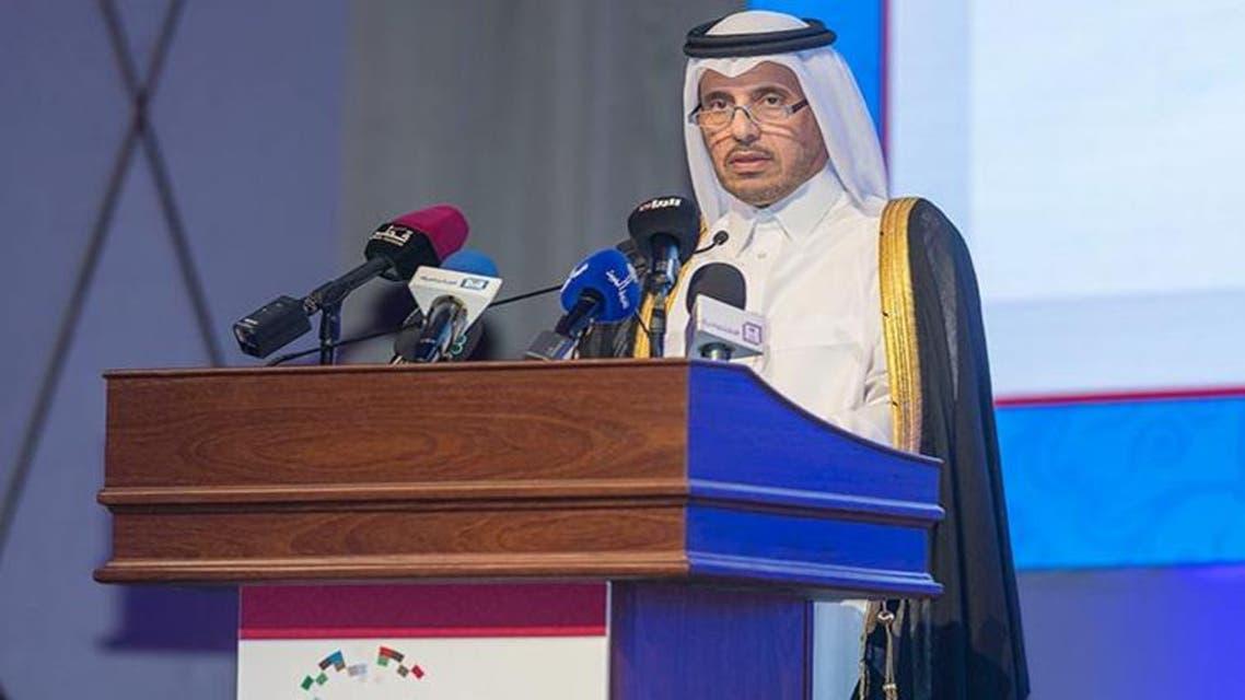 رئيس الوزراء القطري الشيخ عبدالله بن ناصر بن خليفة آل ثاني