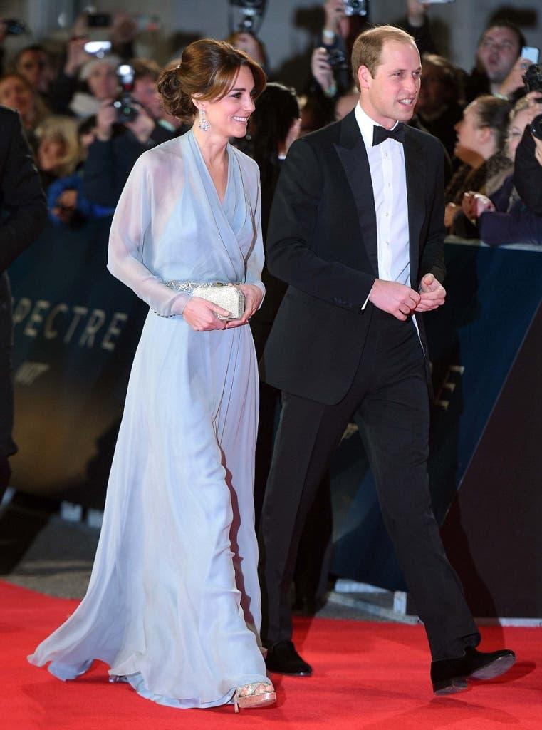 مع زوجها الأمير ويليام