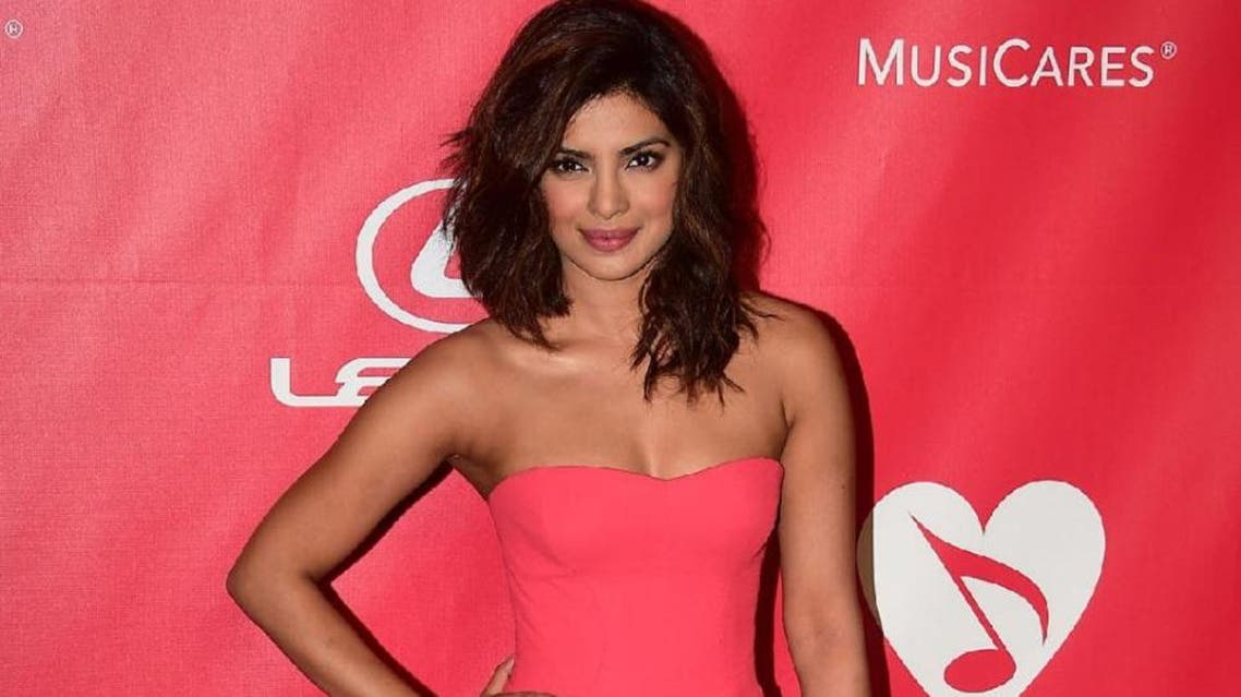 """Bollywood star Priyanka Chopra is blazing a trail as the first Indian lead in a US TV series, playing FBI agent turned suspected terrorist Alex Parrish in ABC thriller """"Quantico"""" (AFP)"""