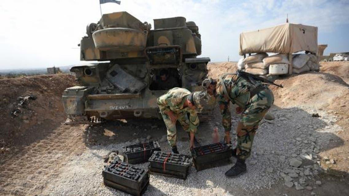 الجيش السوري جيش النظام السوري سوريا