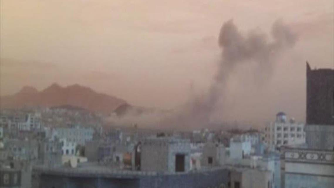 THUMBNAIL_ التحالف يواصل استهداف مراكز الحوثيين في اليمن