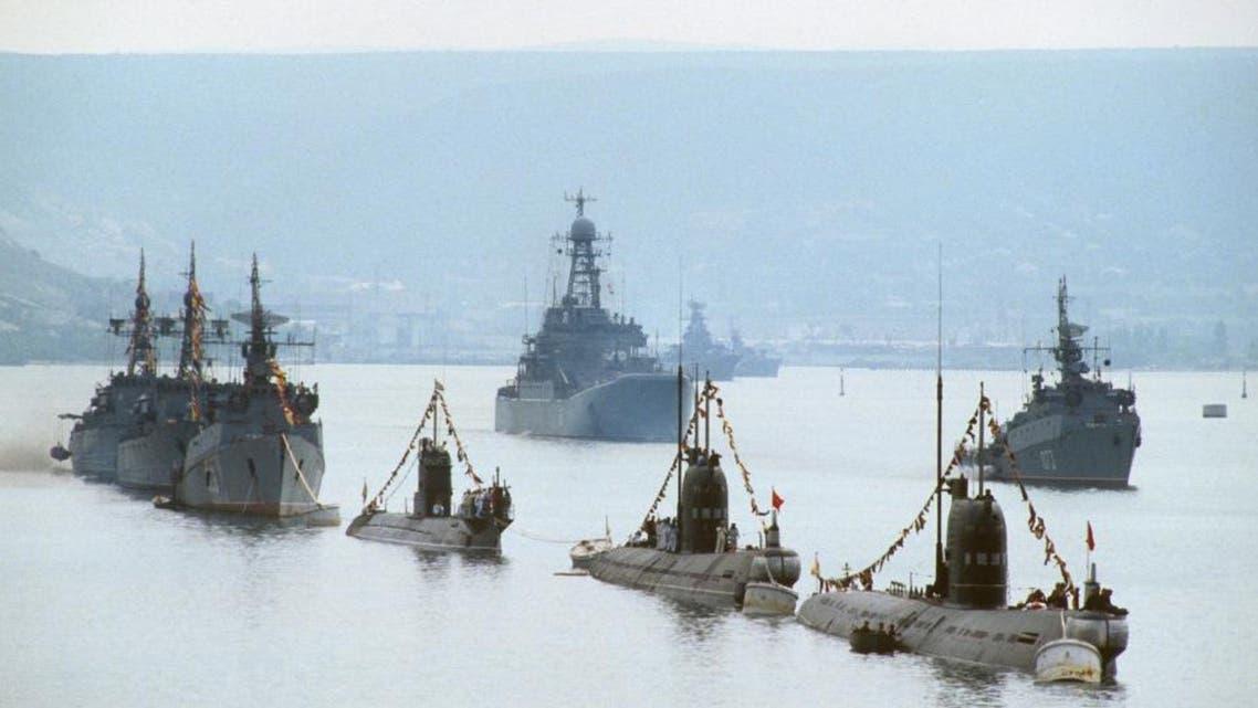 سفن حربية روسية روسيا
