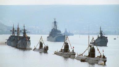 """سفن حربية روسية على شواطئ إيران في """"مهمة مدروسة"""""""
