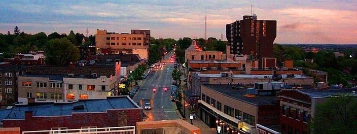 مدينة مونتي ليبانون عاصمة مقاطعة ليبنانون بولاية بنسلفانيا الأميركية