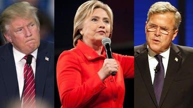 انتخابات أميركا.. هيلاري تتقدم وبوش مأزوم وترامب صاخب