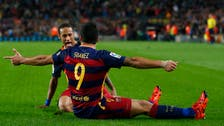 Neymar and Suarez keep stuttering Barca on track