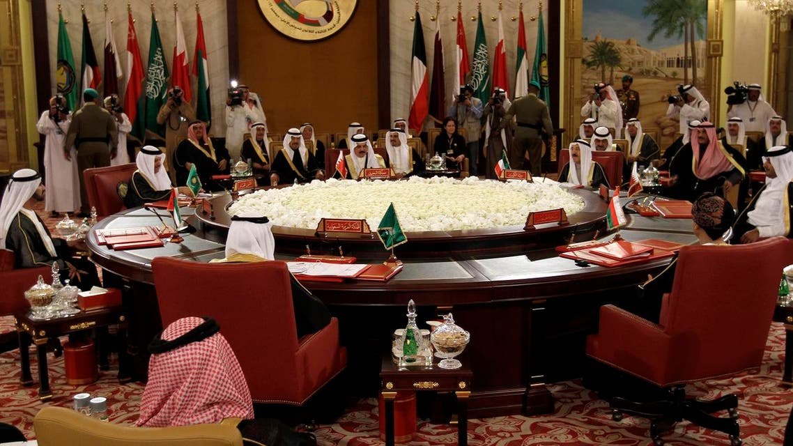 The Gulf Cooperation Council leaders attend the GCC summit in Sekhir, Bahrain. (File photo: AP)
