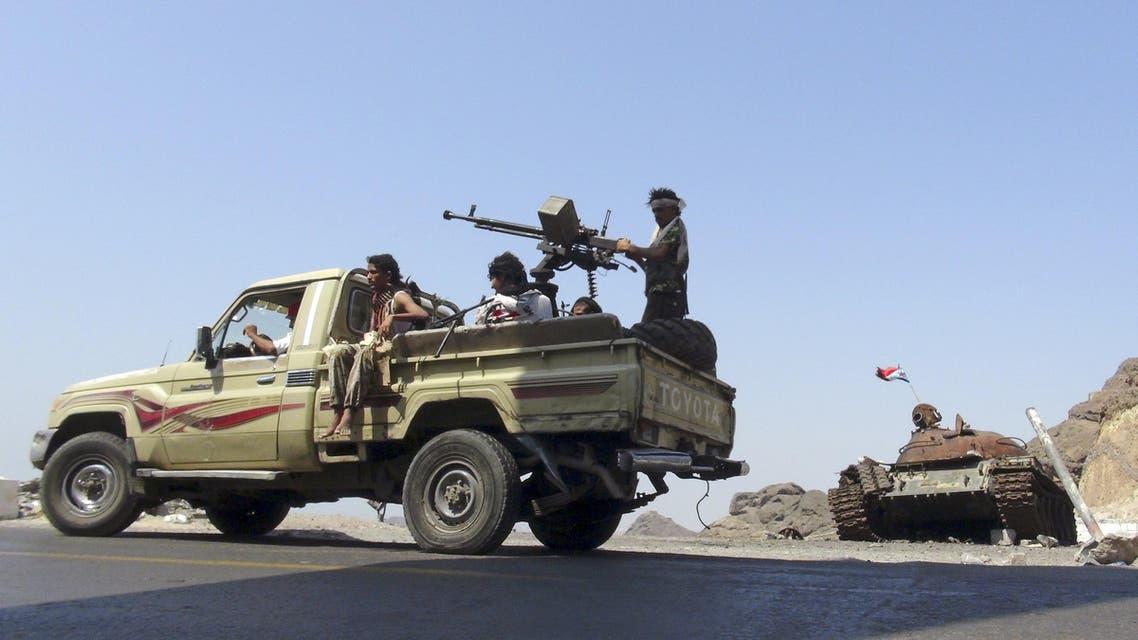 عناصر من المقاومة الشعبية - اليمن 3