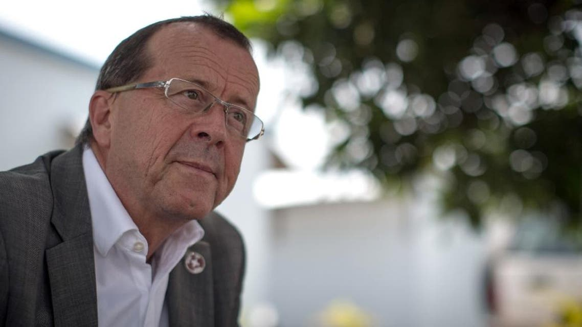 Martin Kobler, pictured on April 19, 2015, has led MONUSCO in the Democratic Republic of Congo, the UN's largest peacekeeping mission, for the past two years (AFP)