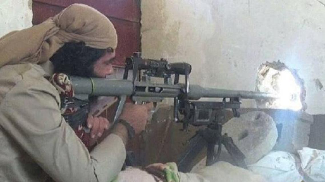 قناص داعشي في الأنبار (أرشيفية)