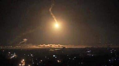 سقوط صاروخ على مطار عسكري في بغداد