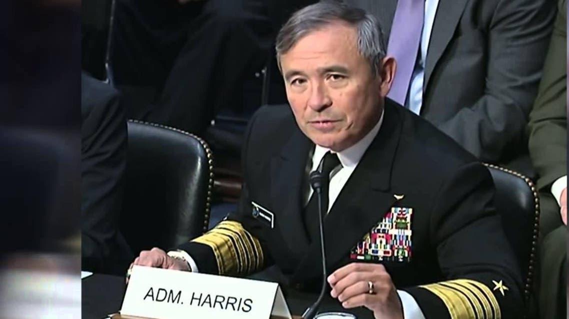 الاميرال هاري هاريس قائد القوات الاميركية في المحيط الهادي