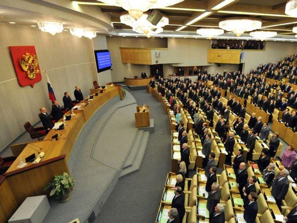 روسيا..الحزب الحاكم يضغط لتجريم التمويل الأجنبي للسياسة