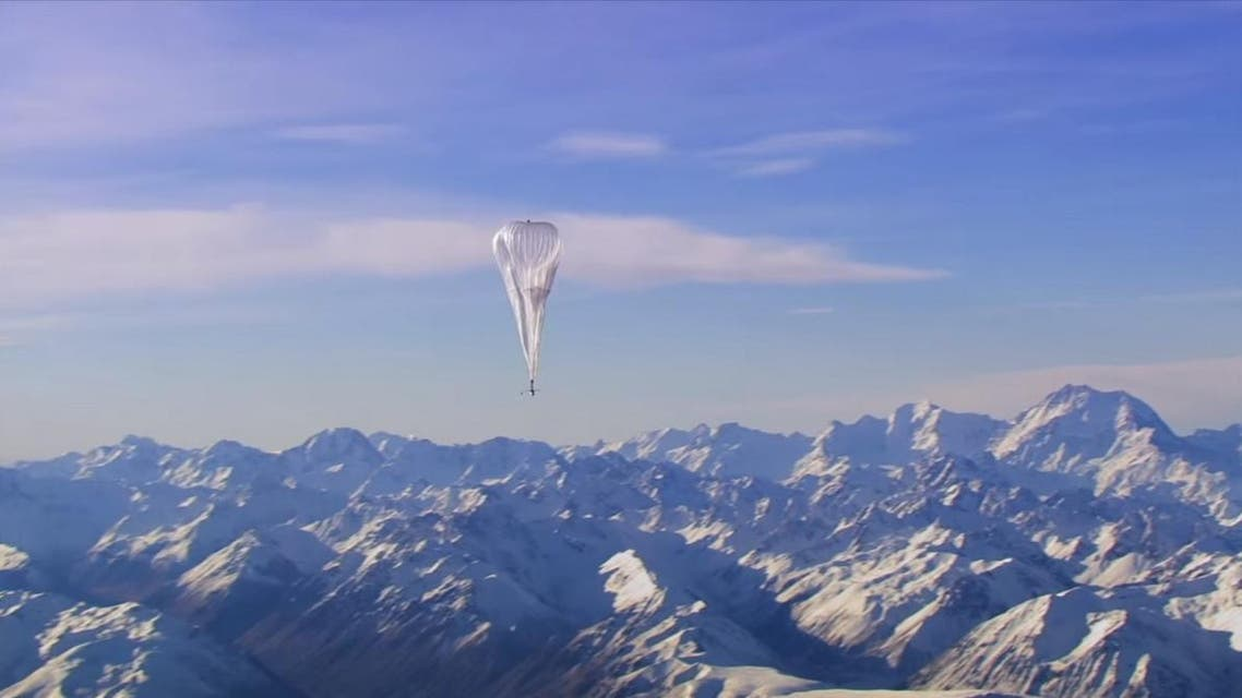 The balloons will begin hovering in the stratosphere above Indonesia in an expansion of the project. (Google)
