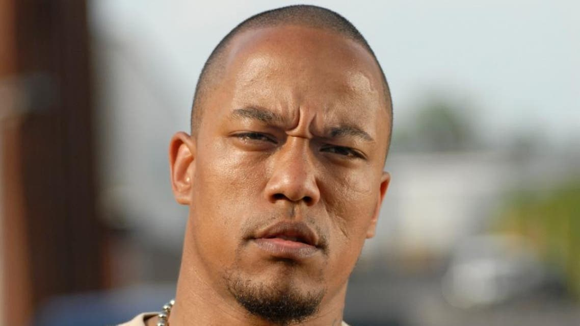 A picture taken on June 20, 2005 shows German rapper Denis Cuspert, also known as Deso Dogg, in Berlin (AFP)