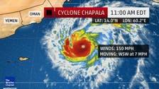 #تشابالا.. إعصار نادر يهدد اليمن وسلطنة عمان