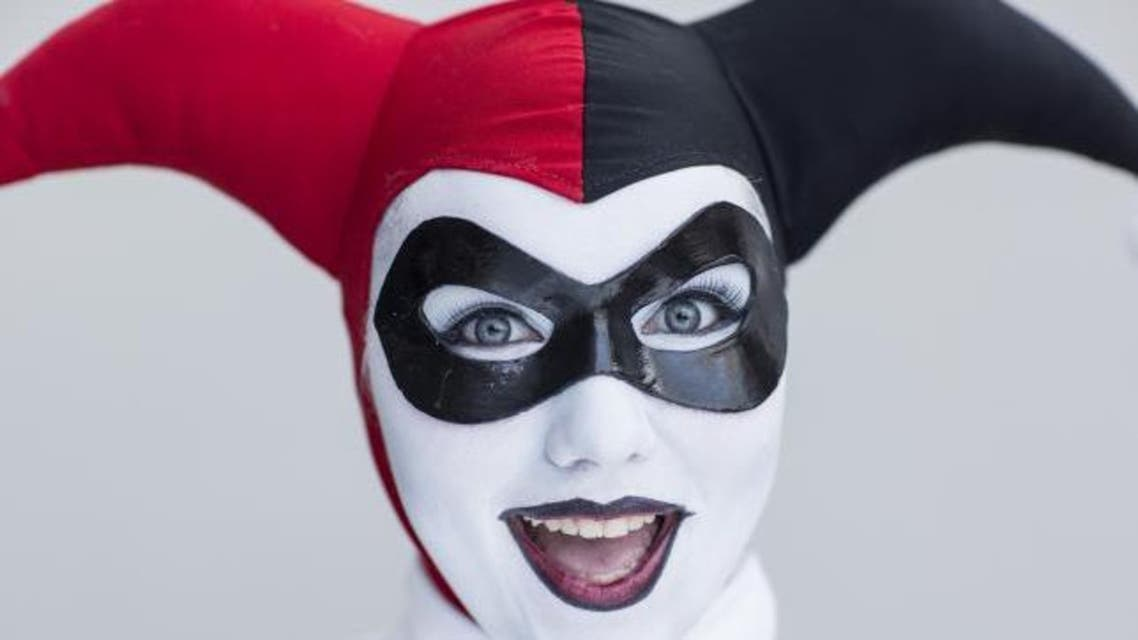 Danielle Pierson attends New York Comic Con dressed as Harley Quinn from DC Comic's Batman comics in Manhattan, New York, October 8, 2015. (Reuters)
