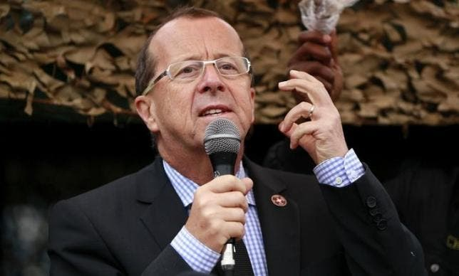 Kobler is no stranger to tough U.N. jobs. He most recently headed the U.N. peacekeeping mission in the Democratic Republic of the Congo. (File photo: Reuters)