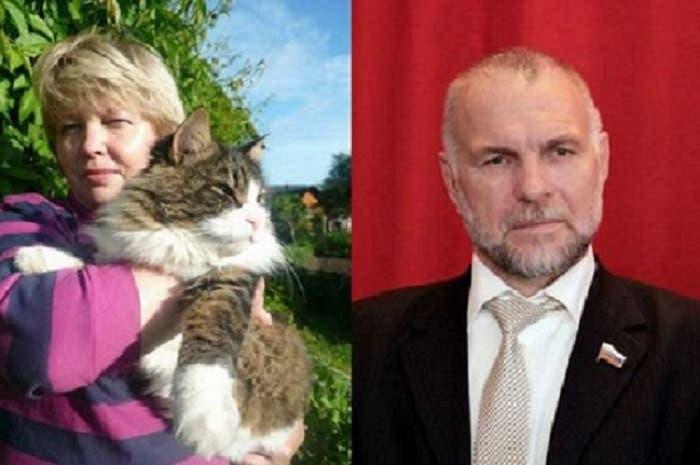 ألكساندر كوبيلوف، كان نائب رئيس مدينة بسكوف الروسية، وقتل هو وزوجته