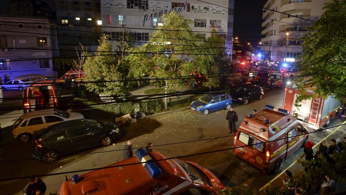 بوخارست انفجار ملهى ليلي